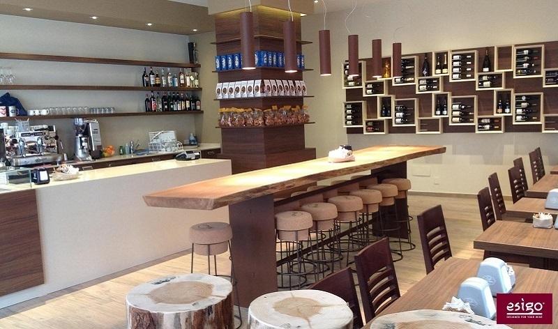 Gallery esigo 5 botellero de madera para pared - Estanterias de vino ...