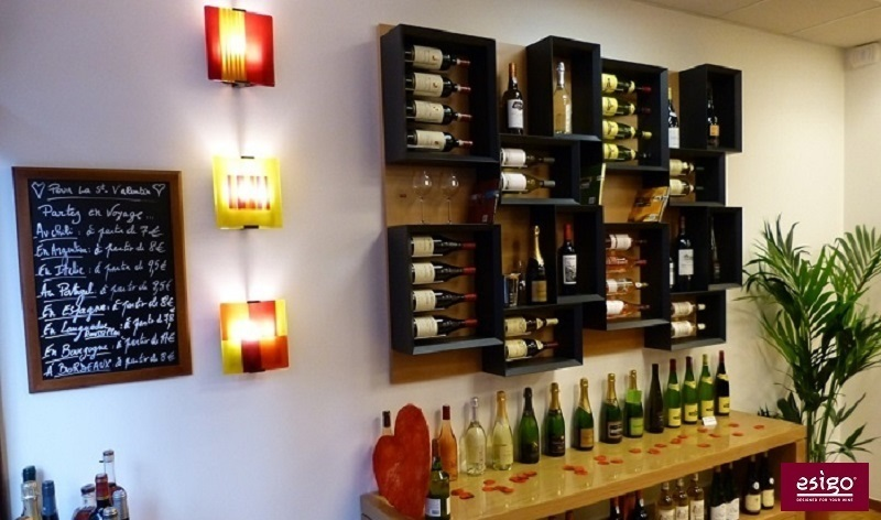 gallery esigo 5 range bouteilles design. Black Bedroom Furniture Sets. Home Design Ideas