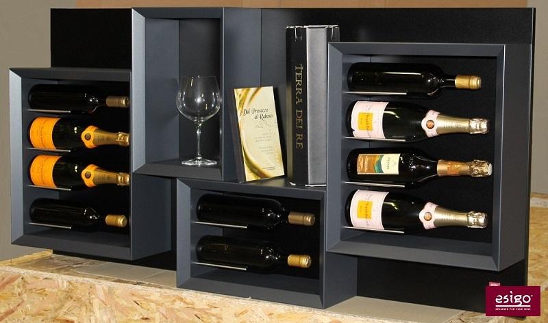 Gallery weinregal holz esigo 5 - Cavas de vino para casa ...