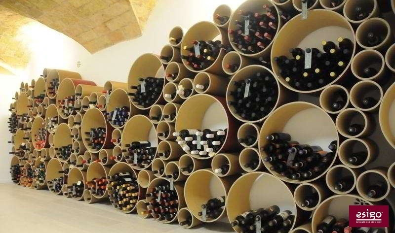 gallery flaschenregal aus karton esigo 8. Black Bedroom Furniture Sets. Home Design Ideas
