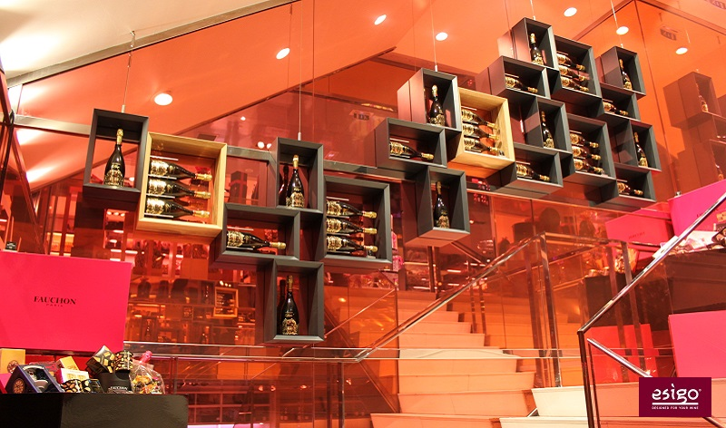 Esigo restaurant wine racks