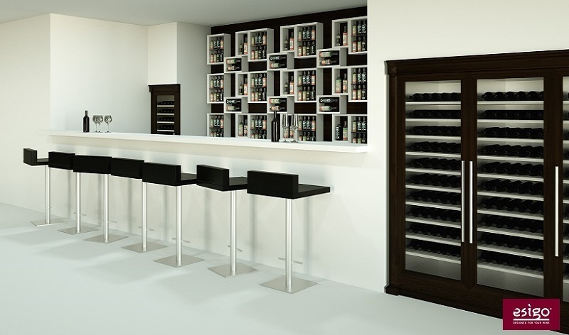 Gallery agencement bar vin esigo - Amenagement bar a vin ...