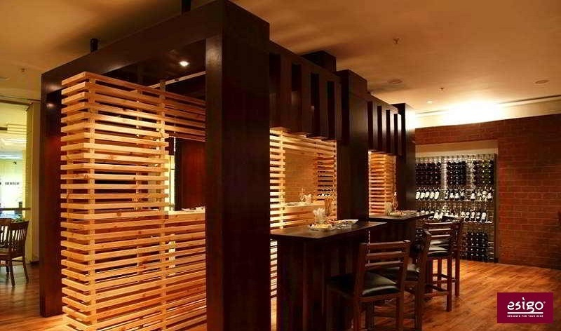 Esigo designer wine bar furniture