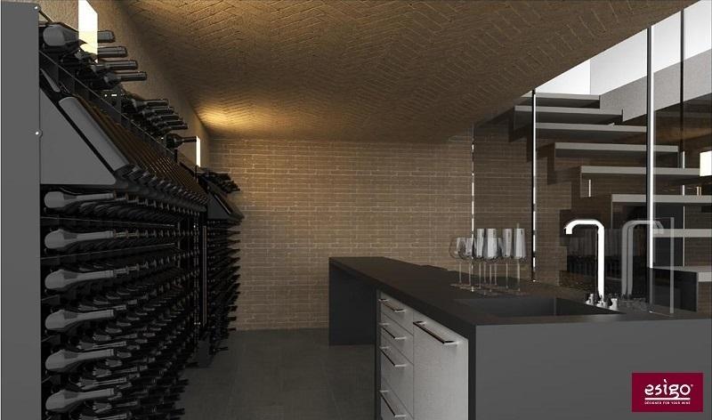 Gallery am nagement cave vin esigo - Agencement de cave a vin ...