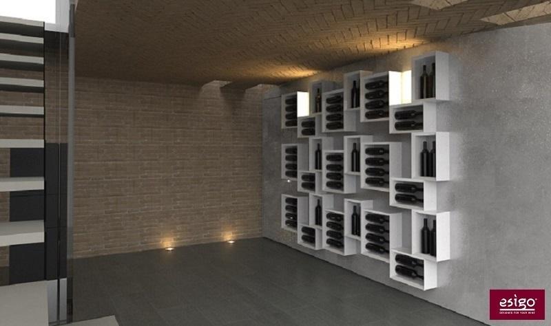 Gallery am nagement cave vin esigo - Amenagement cave a vin maison ...