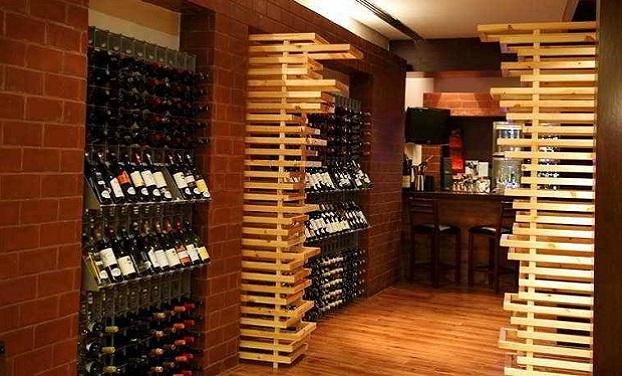 Agencement bar à vin