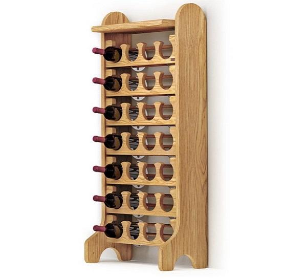 Botelleros de madera esigo - Botellero de pared ...