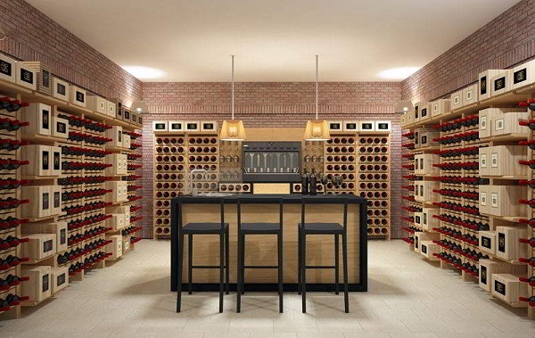 Wine cellar furniture Classic Version